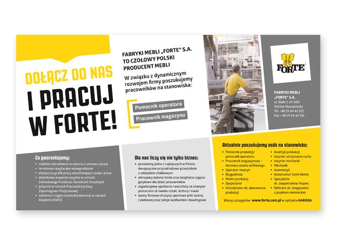 Materiały Rekrutacyjne Plakaty Ulotki Ogłoszenia